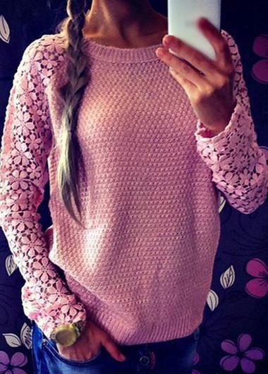 Вязание розовые кофты